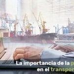 planificación en Transporte Marítimo