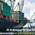 transporte marítimo contenedor inteligente